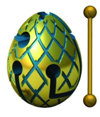 BePuzzled Jester Smart Egg Puzzle
