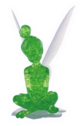 BePuzzled Tinker Bell 3D Crystal Puzzle