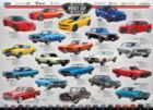 Muscle Car Evolution - 1000pc Jigsaw Puzzle by Eurographics