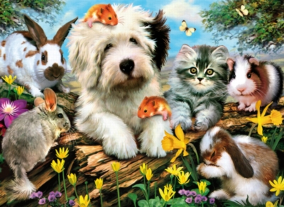 Clementoni Furry Friends Jigsaw Puzzle