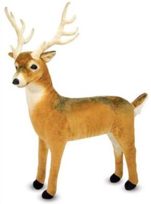 """Deer - 27"""" Tall, Standing Plush Deer by Melissa & Doug"""