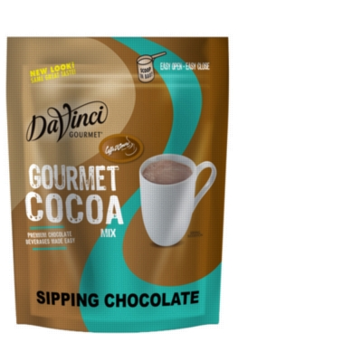 Caffe D'Amore Sipping Chocolate - Gourmet Cocoa Mix - 2 lb. Bulk Bag