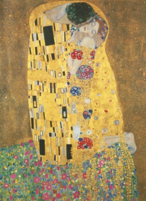 "Clementoni Klimt: ""Bacio"" Jigsaw Puzzle"