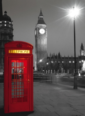 Clementoni London Phone Box Jigsaw Puzzle