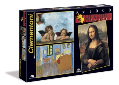 Clementoni Museum Collection 1 Jigsaw Puzzle