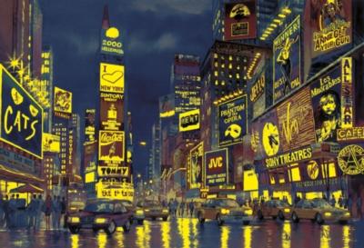 Clementoni New York Lights Jigsaw Puzzle