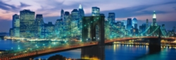 Clementoni NY - Brooklyn Bridge Panorama Jigsaw Puzzle