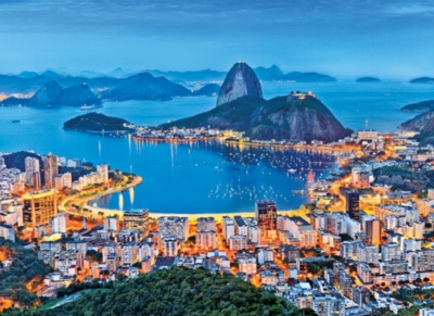 Clementoni Rio de Janeiro Jigsaw Puzzle
