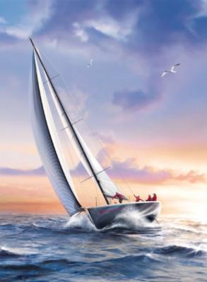 Clementoni Sail Boat Jigsaw Puzzle