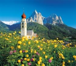 Clementoni Sud Tirolo, Church Saint Velentin Jigsaw Puzzle