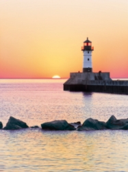 Clementoni Sunset to the Lighthouse Jigsaw Puzzle