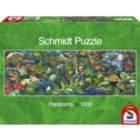 Jungle Panorama - 1000pc Jigsaw Puzzle by Schmidt