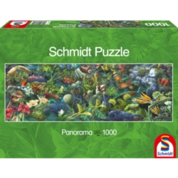 Schmidt Jungle Panorama Jigsaw Puzzle