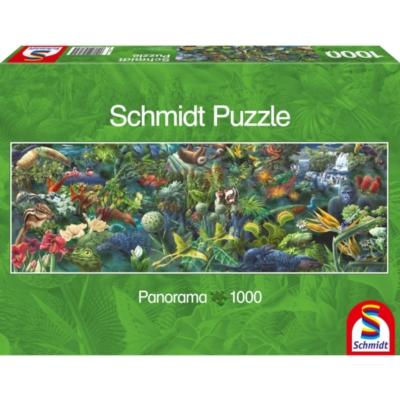 Schmidt Jungle Panorama Jigsaw Puzzle