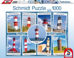 Schmidt Lighthouses Jigsaw Puzzle