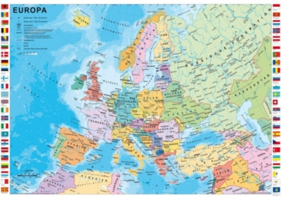 Schmidt The Countries of Europe Jigsaw Puzzle