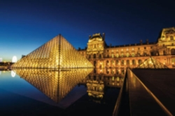 Schmidt The Louvre by Night Jigsaw Puzzle