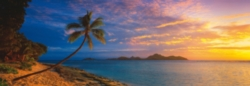 Schmidt Tokoriki Island Panoramic Jigsaw Puzzle w/ Puzzle Glue