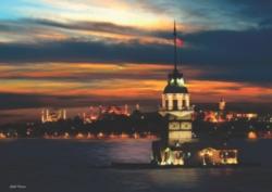 Anatolian K�z Kulesi Neon Jigsaw Puzzle