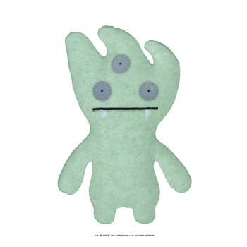 """Tray Green - 7"""" Little Ugly by Uglydoll"""