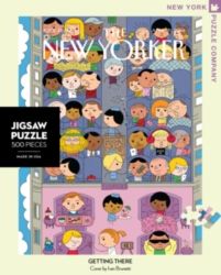 New York Puzzle Company Getting There Jigsaw Puzzle