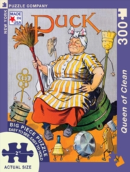 New York Puzzle Company Queen of Clean Jigsaw Puzzle
