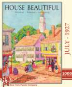 Victorian Village - 1000pc Jigsaw Puzzle by New York Puzzle Company