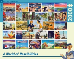 New York Puzzle Company World of Possibilities Jigsaw Puzzle