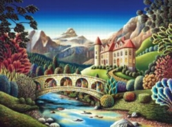 Andrews + Blaine Andy Russell Castle Creek Jigsaw Puzzle