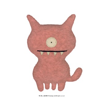 "Uglydog Pink - 7"" Little Ugly by Uglydoll"