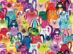Andrews + Blaine Emma Schonenberg Cat's True Colors Jigsaw Puzzle
