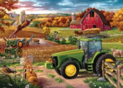 Masterpieces 100 Years of Deere Jigsaw Puzzle