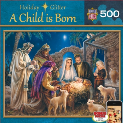 Masterpieces A Child is Born Jigsaw Puzzle