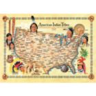 American Indian Tribes - 1000pc Jigsaw Puzzle by Masterpieces