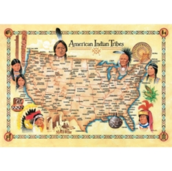Masterpieces American Indian Tribes Jigsaw Puzzle
