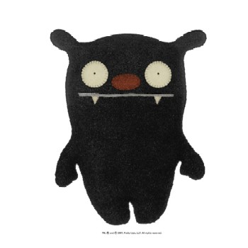"Big Toe Black - 7"" Little Ugly by Uglydoll"