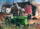 Barnyard Tussle - 1000pc Jigsaw Puzzle by Masterpieces