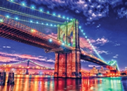 Masterpieces Brooklyn Lights Jigsaw Puzzle