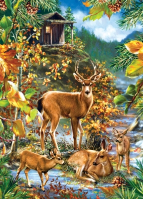 Masterpieces Family Gathering Jigsaw Puzzle