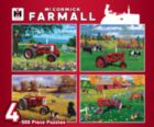 Farmall 4-Pack - 4x 500pc Jigsaw Puzzle by Masterpieces