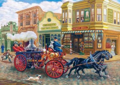 Masterpieces Fire Brigade Jigsaw Puzzle