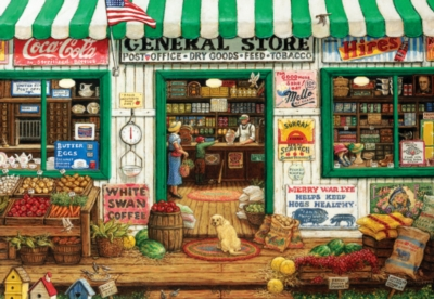 Masterpieces General Store Jigsaw Puzzle