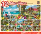 Giana Bundle - 4x100, 4x300, 4x500pc Jigsaw Puzzle by Masterpieces