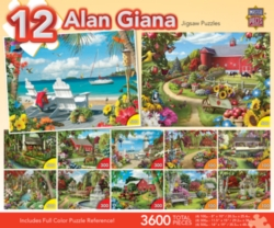 Masterpieces Giana Jigsaw Puzzle Bundle
