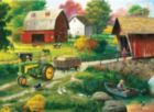 John Deere: Country Side - 1000pc Jigsaw Puzzle Tin by Masterpieces