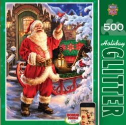 Masterpieces Jolly Saint Nick Jigsaw Puzzle