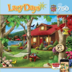 Masterpieces Lakeside Retreat JIgsaw Puzzle