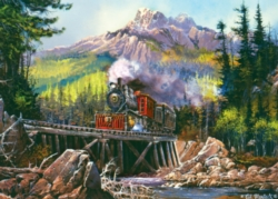 Masterpieces Movin' Thru 71 Jigsaw Puzzle