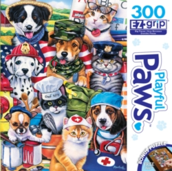 Masterpieces On the Job Jigsaw Puzzle