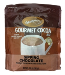 DaVinci Sipping Chocolate - Gourmet Cocoa Mix - 2 lb. Bulk Bag Case